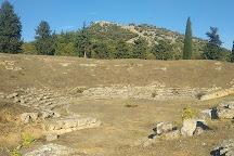 The Ancient Theatre of Eretria, Eretria, Greece