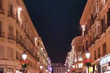 La Calle Larios, Malaga, Spain