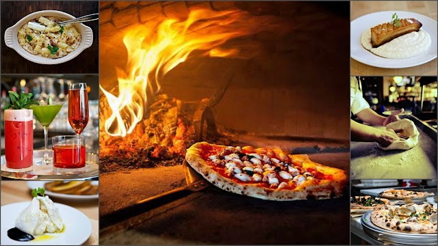 Burrata Wood Fired Pizza