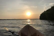 Kayak journey, Rekawa, Sri Lanka