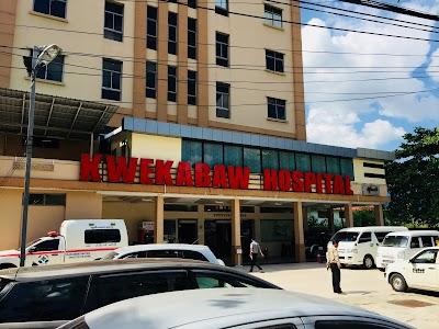 Kwekabaw Hospital, Yangon (+95 1 641 086)