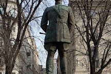 Statue of Harry Hill Bandholtz, Brigadier General, U.S. Army, Budapest, Hungary