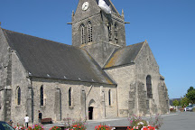 Church of Sainte-Mère-Église, Sainte-Mere-Eglise, France