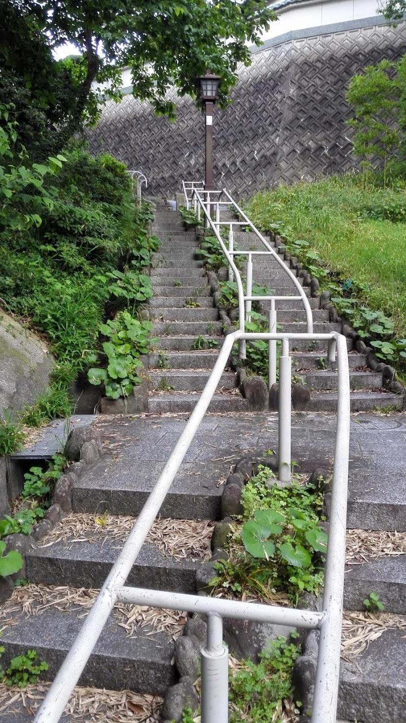 石坂の急坂