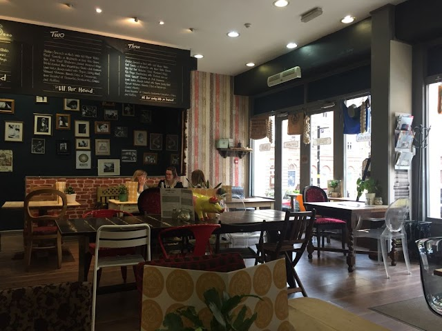 Home Is Where. Cafe Deli