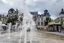 Place du Martroi, Orleans, France