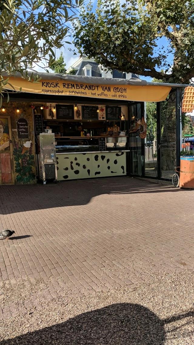 Kiosk Rembrandt Van Gogh