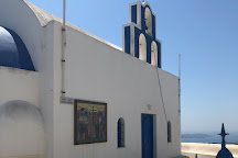 Church of TImios Stavros, Perissa, Greece