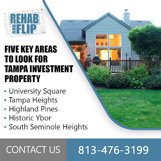 Five Areas Tampa Investment Property Buyers Must Check Out