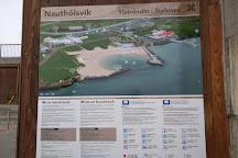 Nautholsvik Geothermal Beach, Reykjavik, Iceland