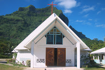 Paroisse Saint Pierre-Celestin Church, Vaitape, French Polynesia