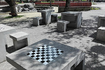Plaza de Armas de Pucon, Pucon, Chile