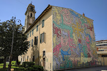 Murale Tuttomondo di Keith Haring, Pisa, Italy
