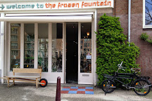 Frozen Fountain, Amsterdam, Holland