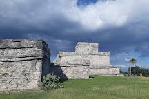 Tulum Archaeological Site, Tulum, Mexico