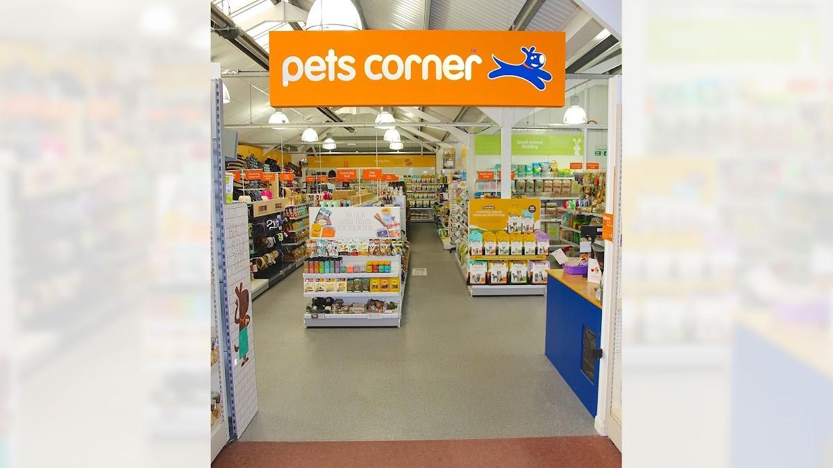 Pets Corner Chelmsford store