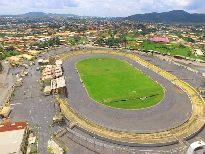 Image result for len clay stadium obuasi