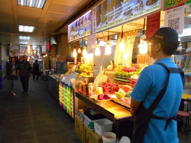 Underground food court Shilin Market