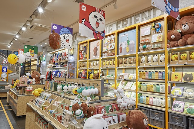 LINE FRIENDS Store Myeong-dong Station (Flagship)