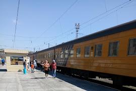 Железнодорожная станция  Karaganda Pass