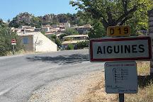 Chateau d'Aiguines, Aiguines, France