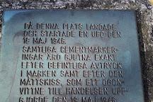 UFO-monumentet, Angelholm, Sweden