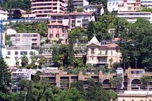 Sentiero dell'olivo, Lugano, Switzerland