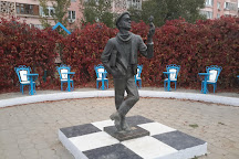Ostap Bender Monument, Elista, Russia