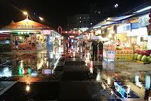 Rainbow night market, Hualien City, Taiwan