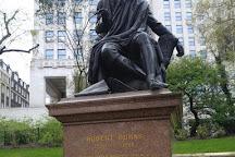 Robert Burns Statue, London, United Kingdom