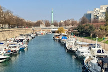 Port de l'Arsenal, Paris, France
