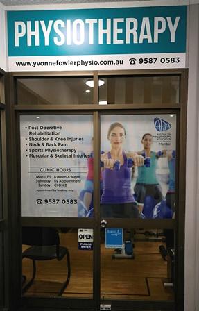 Yvonne Fowler Physio