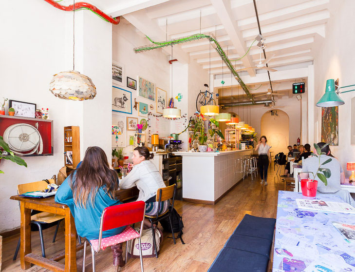 Cosmo: A Work-Friendly Place in Barcelona