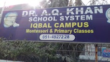 DR A Q KHAN SCHOOL SYSTEM - IQBAL CAMPUS