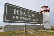 Hecla Provincial Park, Hecla Island, Canada