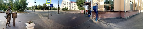 Почта России, улица Ленина на фото Тюмени