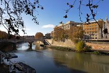 Fontana del porto di Ripetta, Rome, Italy