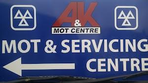 A & K MOT Centre