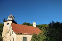 Eagle Bluff Lighthouse, Fish Creek, United States