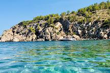 Cala d'en Serra Beach, Ibiza Town, Spain