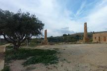 Temple of Vulcano (Hefestos), Agrigento, Italy