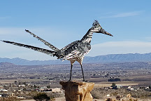 Recycled Roadrunner Sculpture, Las Cruces, United States