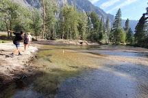 Swinging Bridge Picnic Area Yosemite National Park CA, Yosemite National Park, United States