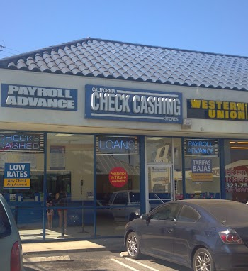 California Check Cashing Stores Payday Loans Picture