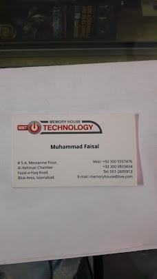 Memory House Technology islamabad
