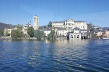 San Giulio Island, Orta San Giulio, Italy