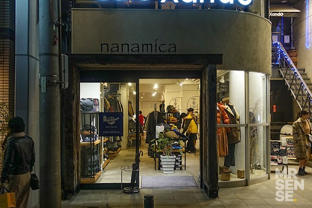Nanamica store