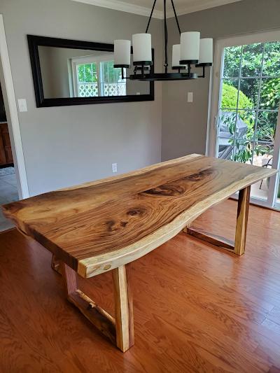 Live Edge Wood Slabs Furniture, R Home Furniture