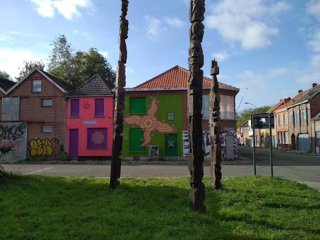 Doel заброшенный Город В Порту Антверпена