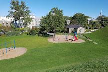 Parc de l'Esplanade, Quebec City, Canada